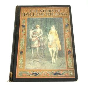 The Story of Idylls of the King by Inez N McFee